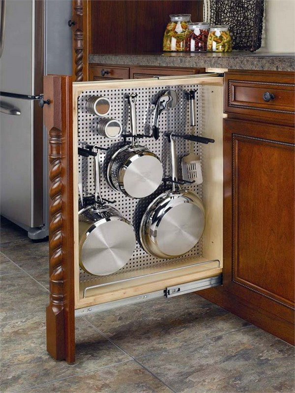 12 Mind Blowing Hidden Kitchen Storage Solution You Must See - The ART in LIFE