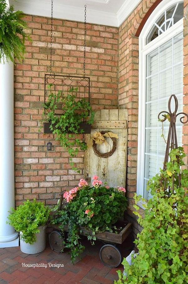 cool summer porch decorations