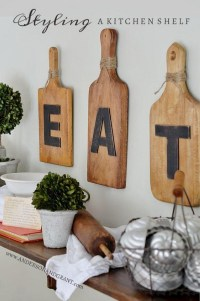 20 Gorgeous Kitchen Wall Decor Ideas to Stir Up Your Blank ...