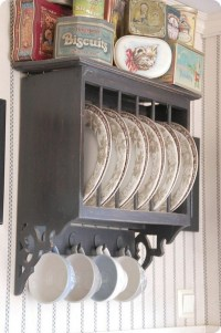 Antique Plate Rack Design Ideas For Your Vintage Kitchen ...