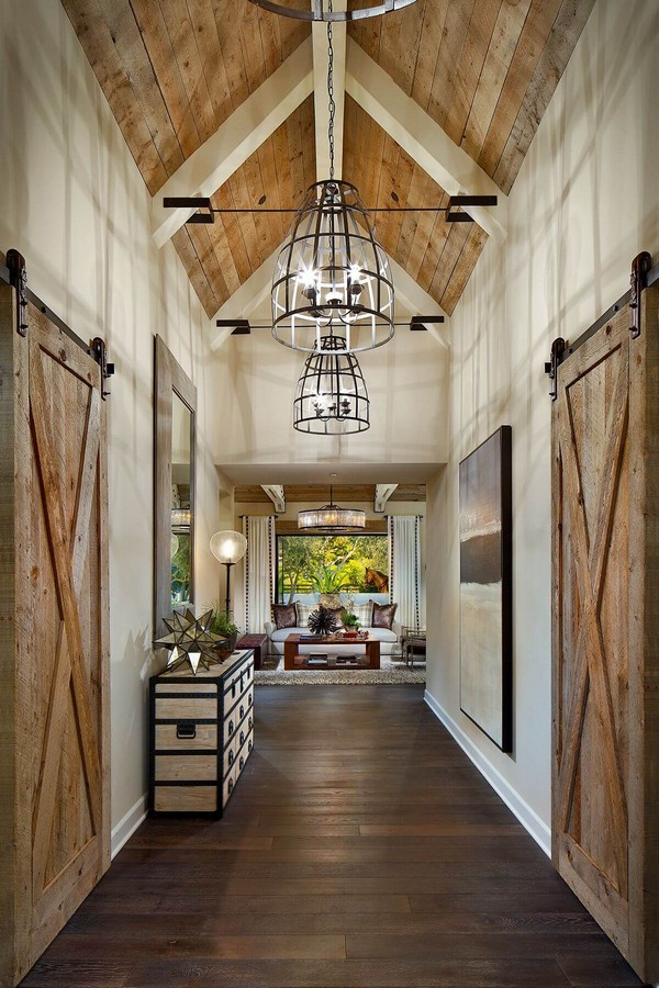 18 Rustic Farmhouse Interiors for that LivedIn Look  The ART in LIFE