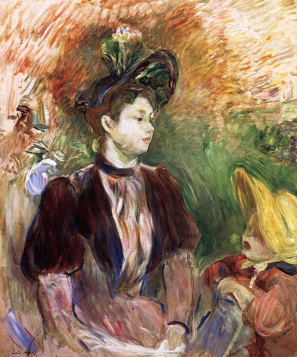 Berthe Morisot Woman and Child