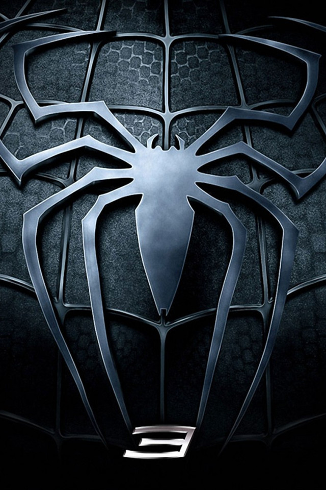 Spiderman 3d Wallpaper For Iphone Blue Spiderman Logo Wallpaper 4 The Art Mad