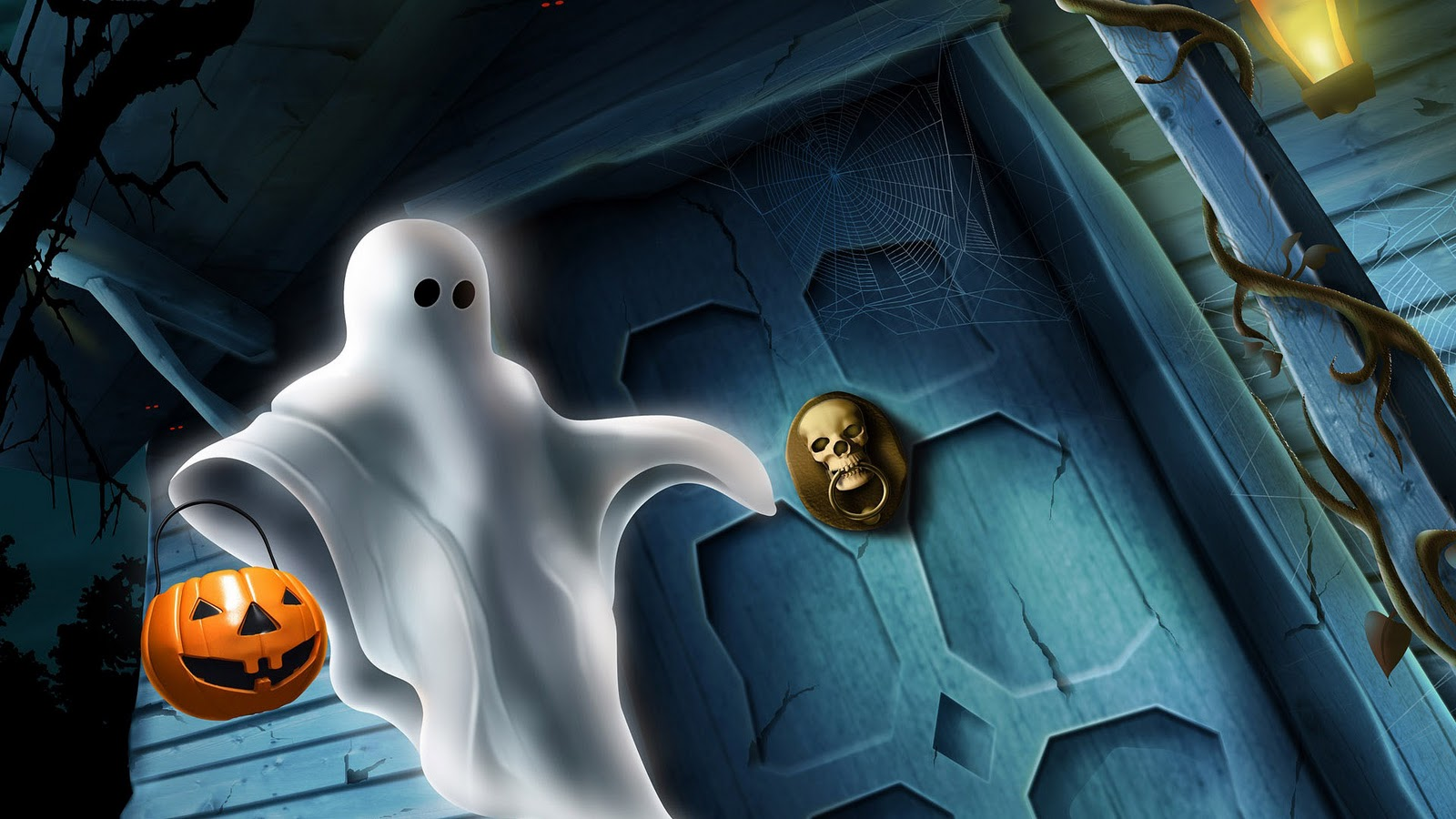 halloween ghost background | the art mad