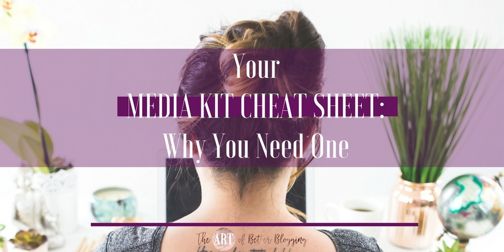 Media Kit Cheat-Sheet: What It Is, What It Needs & How to Get One