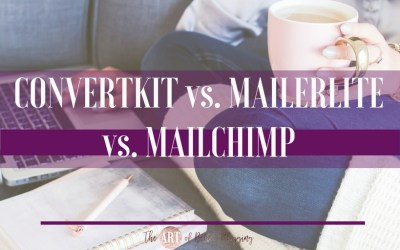 ConvertKit vs. MailerLite vs. MailChimp: Which One is Best for Bloggers?