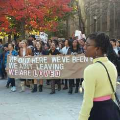 March of Resilience, Yale University, November 9, 2015 Photo by La Tanya S. Autry