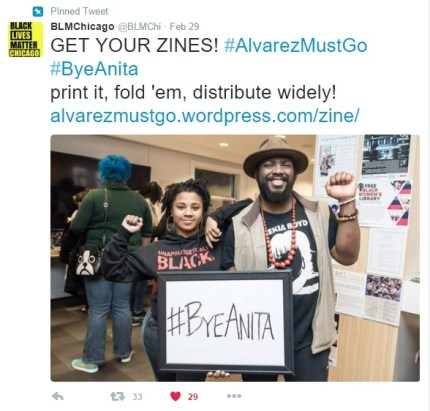 Twitter February 2016, Ten Things You Hate About Anita zine