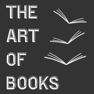 Logo black and white THE ART OF BOOKS