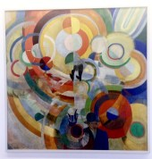 """Robert Delaunay, """"Carousel with Pigs"""""""