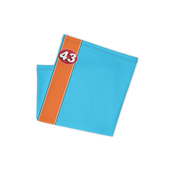 Richard Petty 43 Face Mask Bandana Neck Gaiter