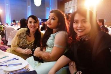 with Eurydice Illiaki and commedian wheel chair model Nawaal Akram
