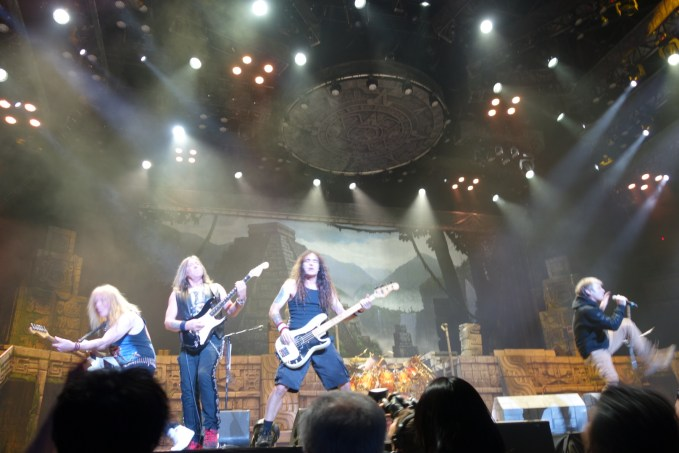 """front row seats to IRON MAIDEN """"book of souls"""" tour concert in Japan!"""