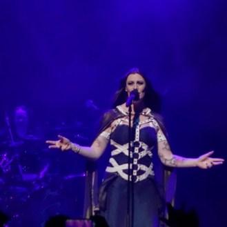 Floor Jansen's amazing vocals on NIGHTWISH concert in Roppongi Japan