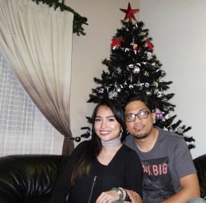 me and my loving husband KRIS BILAE on CHRISTMAS 2016