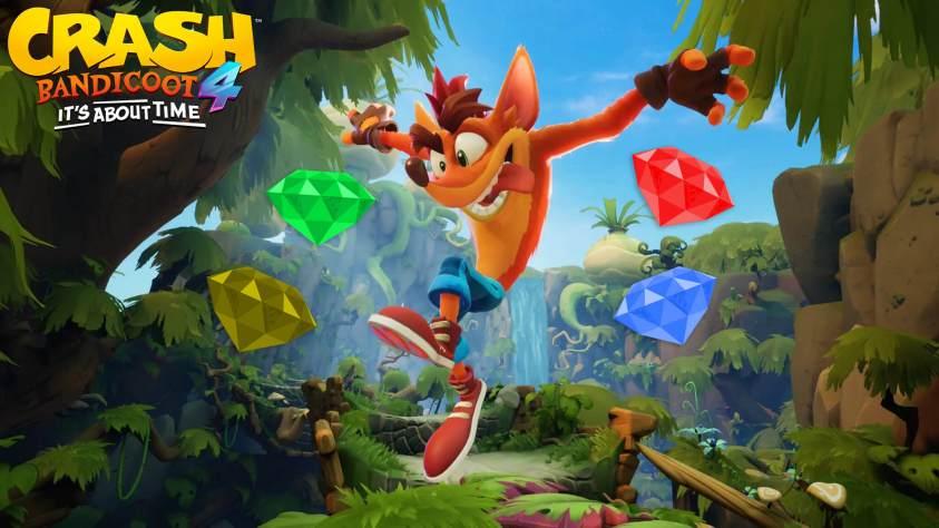 Guía Crash Bandicoot 4 gemas