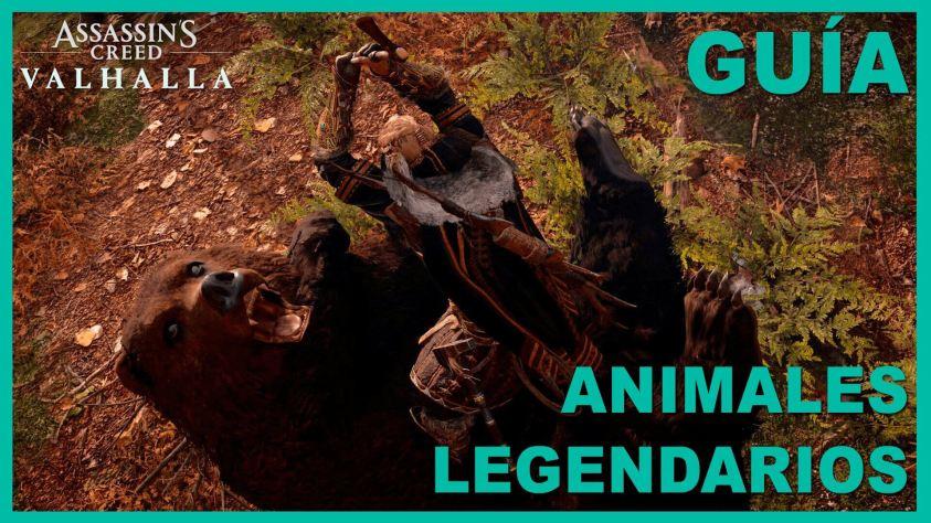 Assassins creed animales legendarios