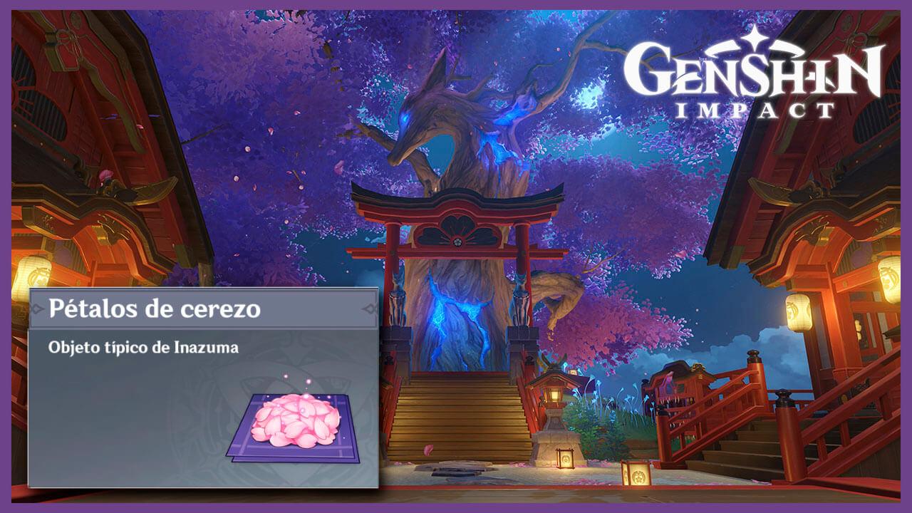 Genshin Impact cerezo