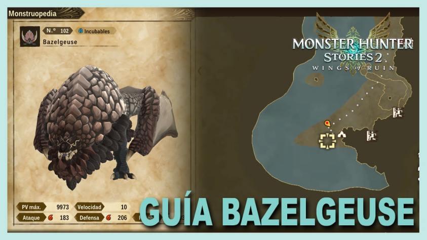 Monster Hunter Stories bazelgeuse