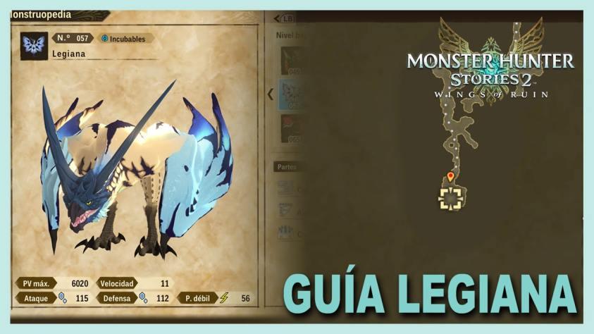 Monster Hunter Stories Legiana