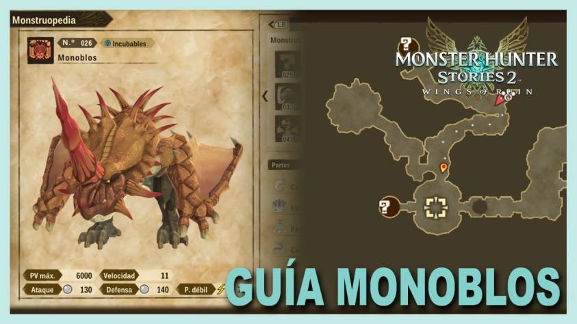 Monster Hunter Stories Monoblos