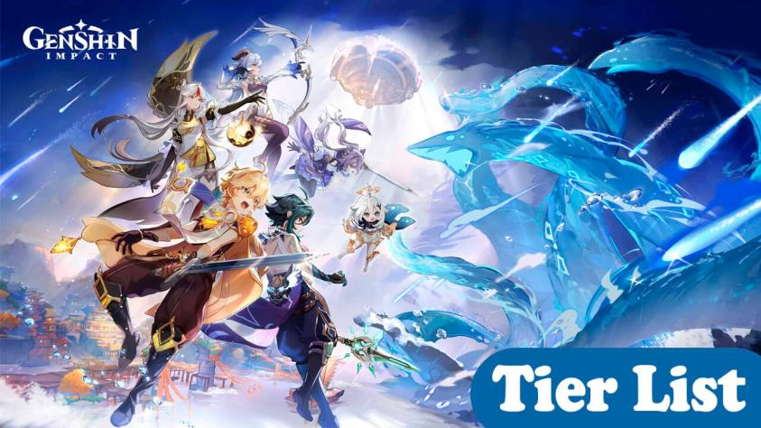 Genshin Impact tier list