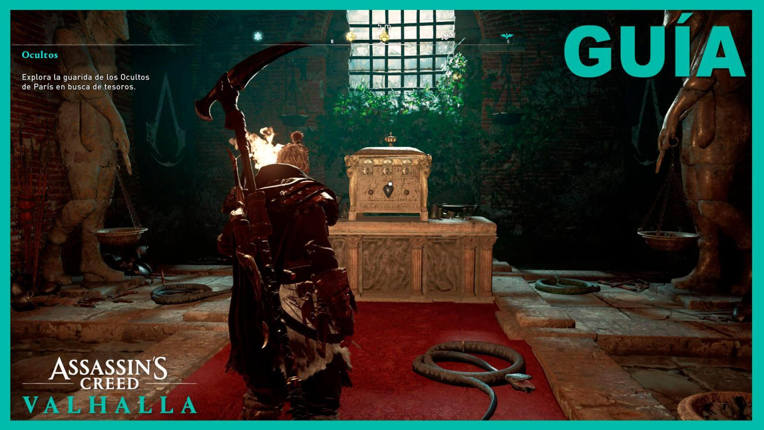Assassin's Creed Valhalla ocultos Francia