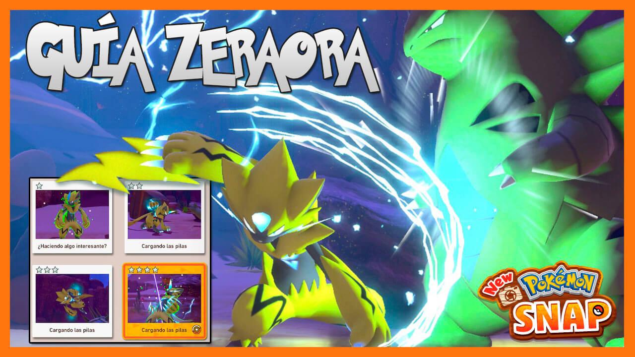 New Pokémon Snap Zeraora