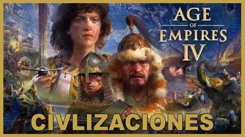 Age of Empires 4 civilizaciones