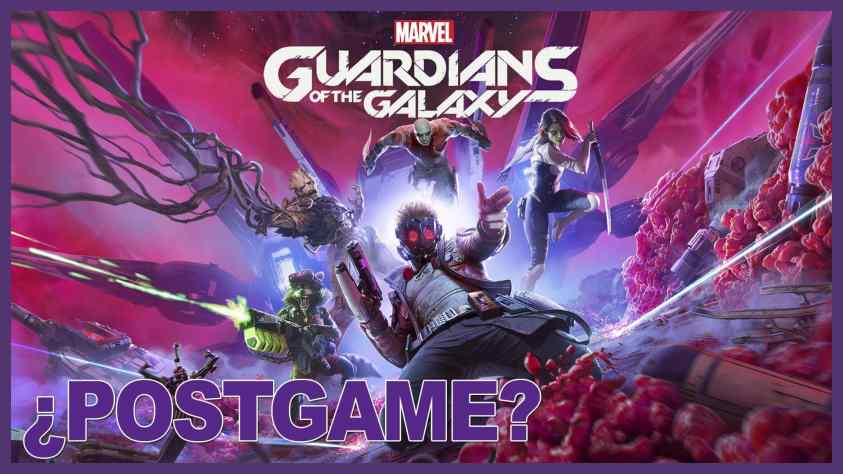 GUIA POSTGAME Guardians of the galaxy