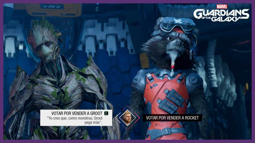Rocket o Groot Guardians of the galaxy