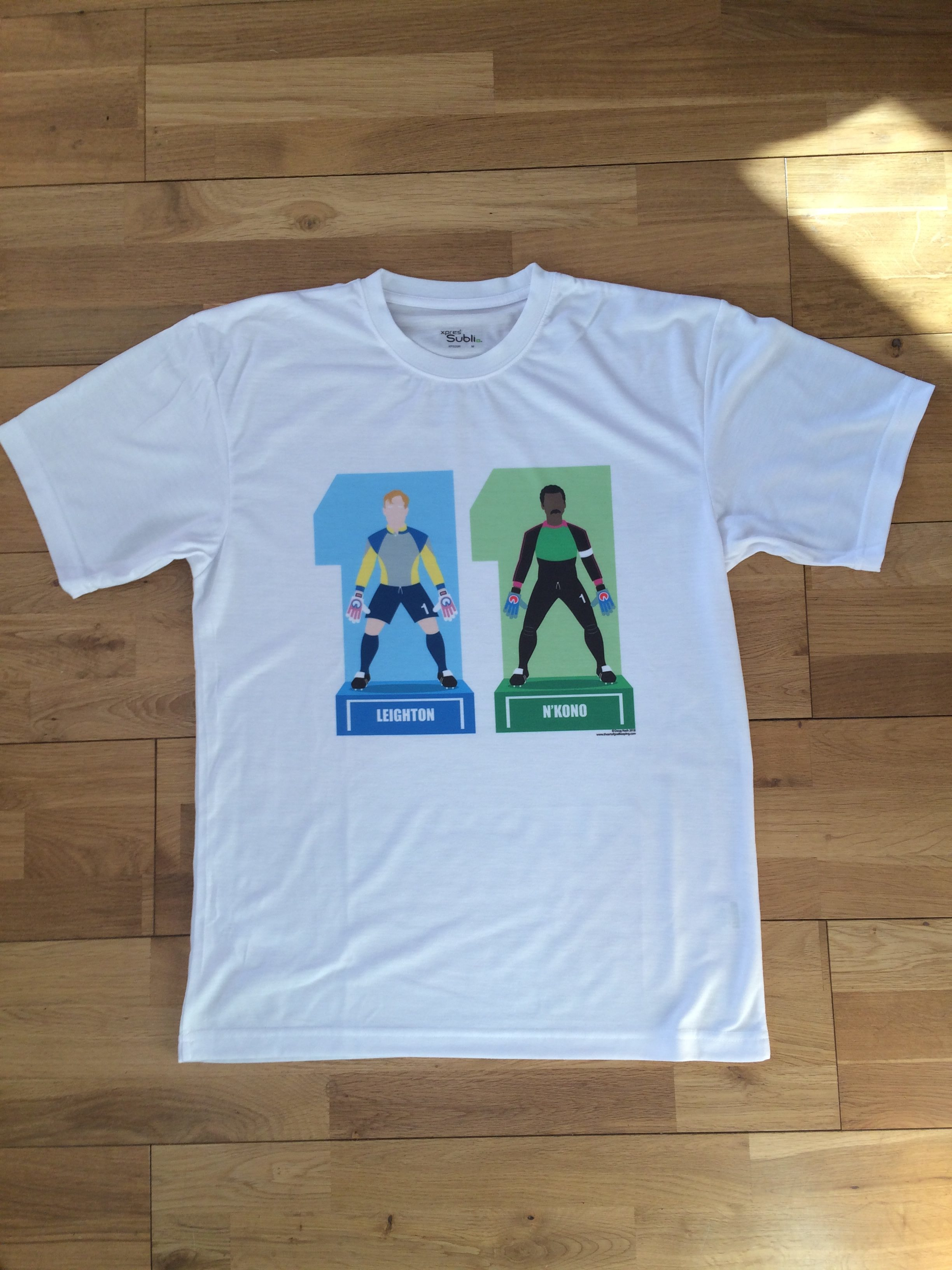 T Shirts The Art Of Goalkeeping