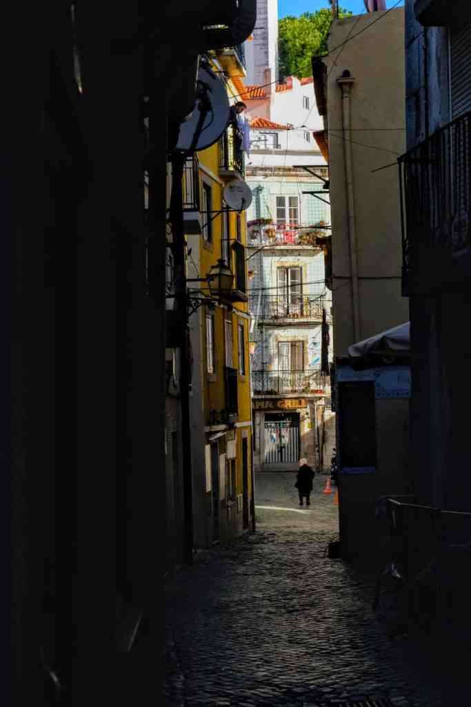 Wandering the narrow streets of Alfama