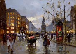 Edouard Cortes, Place de Clichy