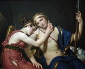 Jacques-Louis David, The Farewell of Telemachus and Eucharis