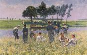Emile Claus, The Picnic