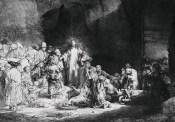 Rembrandt, The Hundred Guilder Print