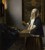 Vermeer, Woman with a Balance