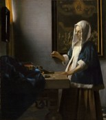 Vermeer, Woman with a Balance