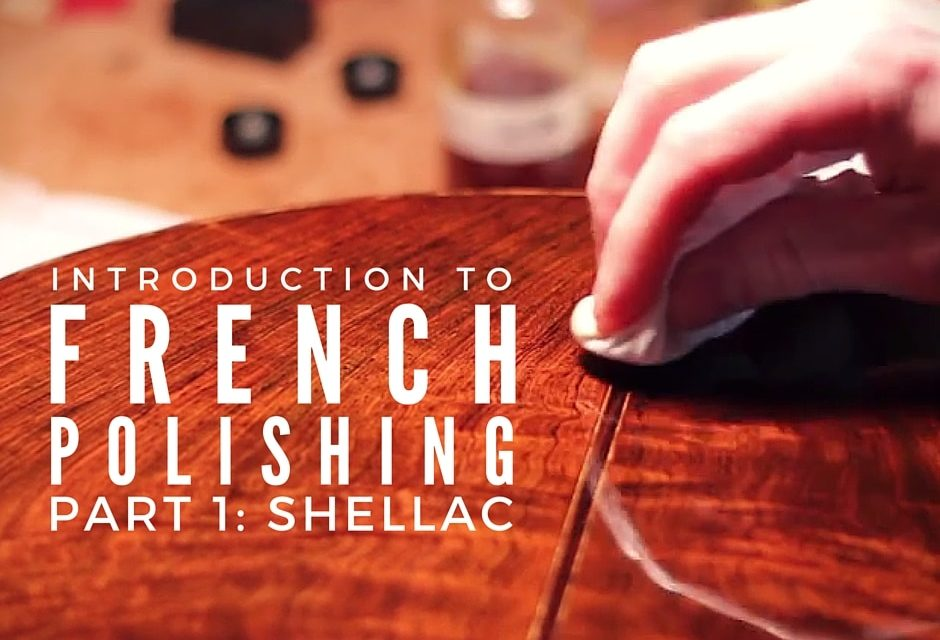 How To Apply Shellac On Wood