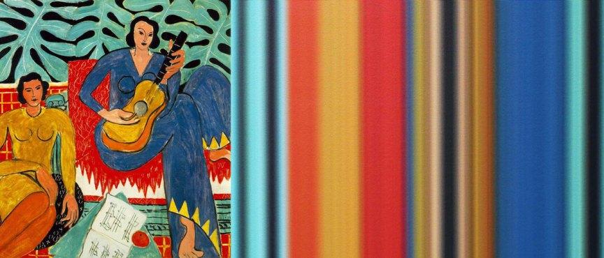 La Musique Ombré | The Art of Mark Evans