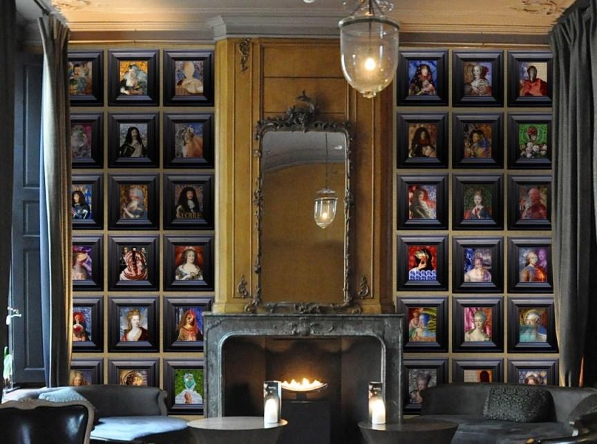 Bourbon Dynasty Assembled | The Art of Mark Evans