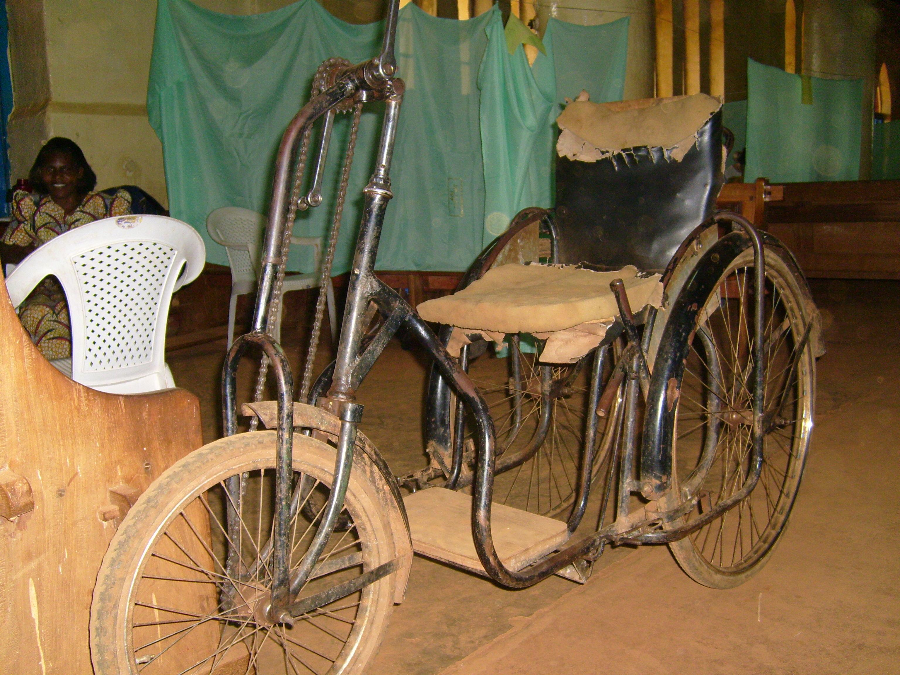 wheelchair genius folding chair table macgyver medicine the art of