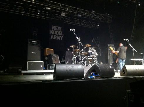 New Model Army - Set im Palladium 17.12.2011