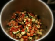 Gemüse kurz andünsten
