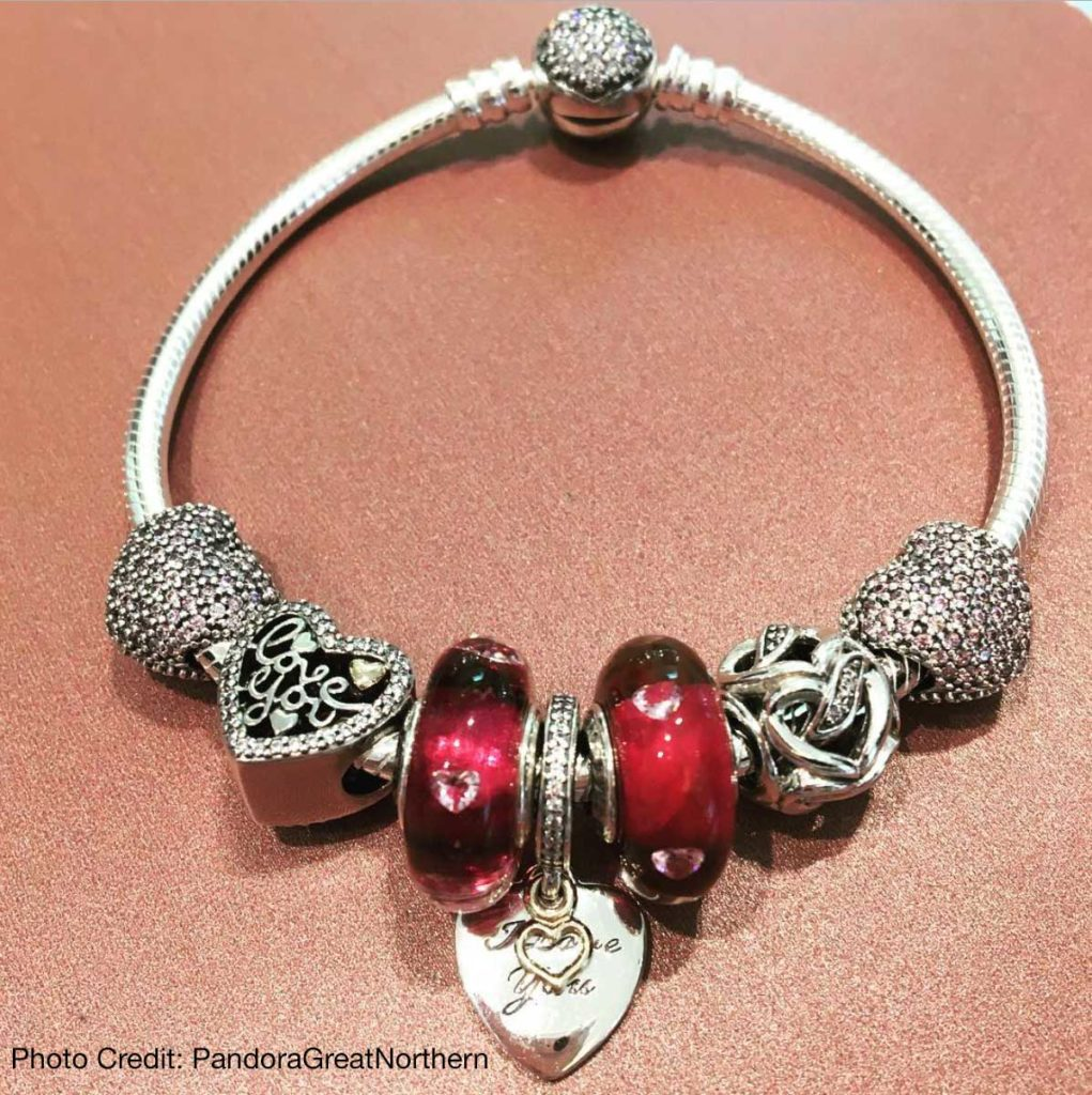PANDORA 2017 Valentines Day Collection Live Images The