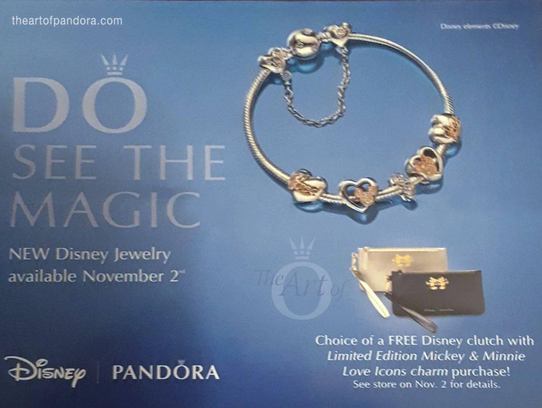 PANDORA US Free Disney Clutch The Art Of Pandora More