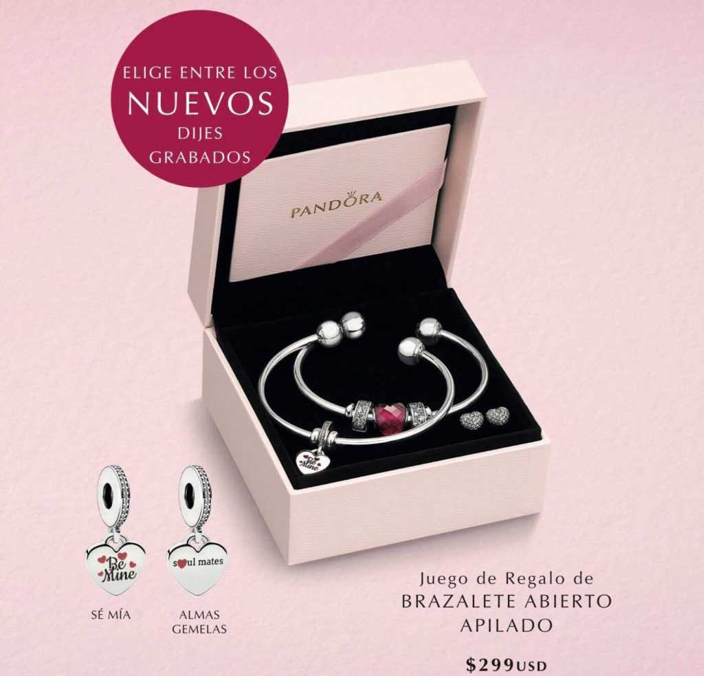 PANDORA Valentines 2018 Gift Sets The Art Of Pandora