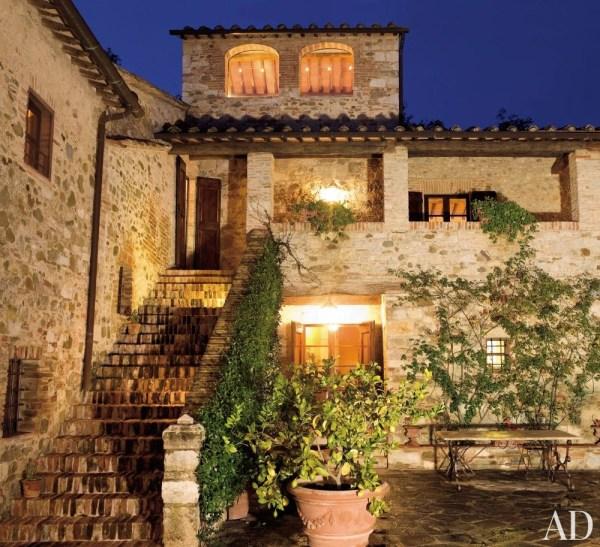 Rustic Tuscan Home Exteriors