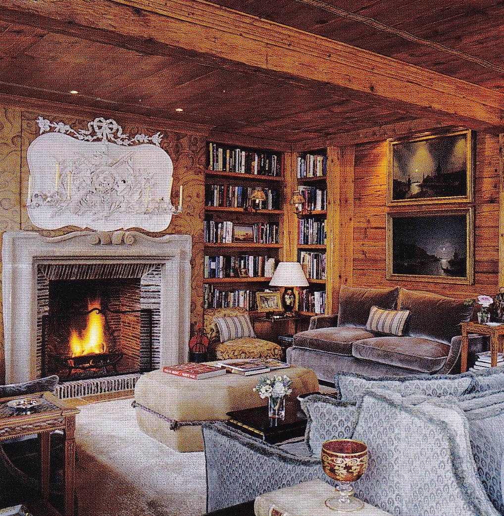 SWISH CHALET  Cristopher Worthland Interiors